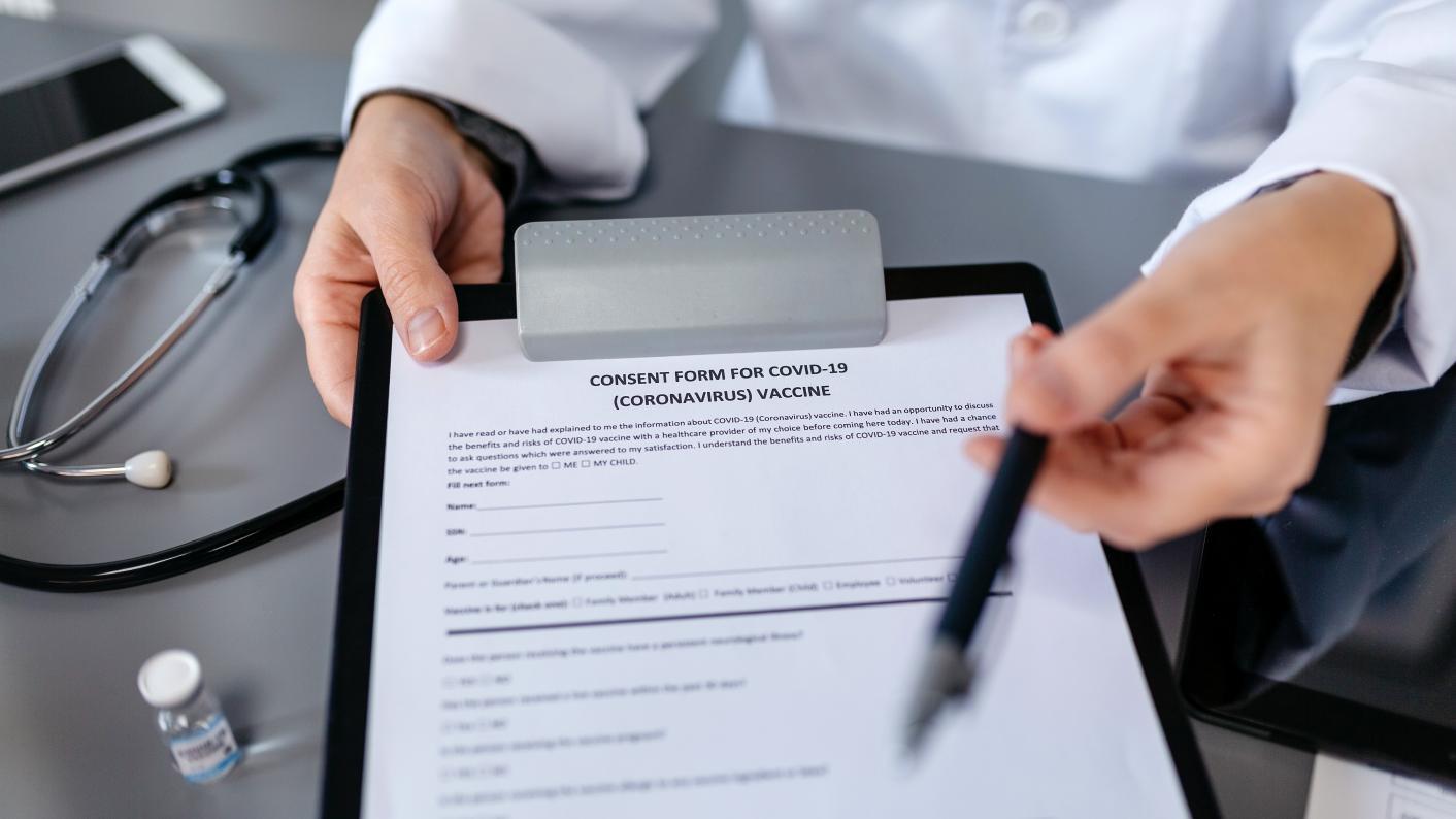 Vaccine consent