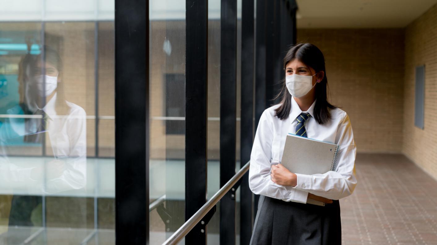 Covid: Scottish heateachers welcome plan to remove masks in secondary school classes
