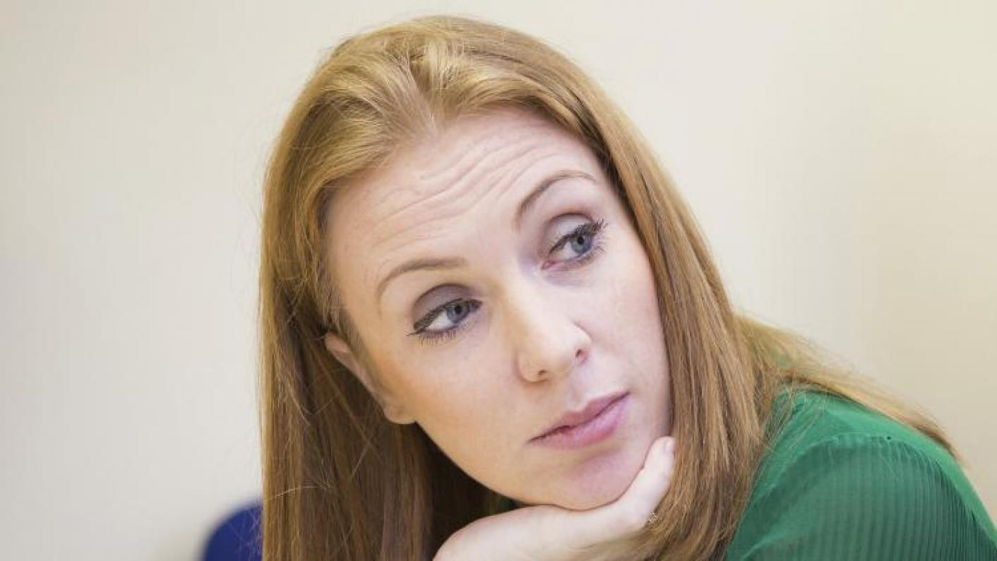 Labour's Angela Rayner says the party would increase per-pupil spending to record levels