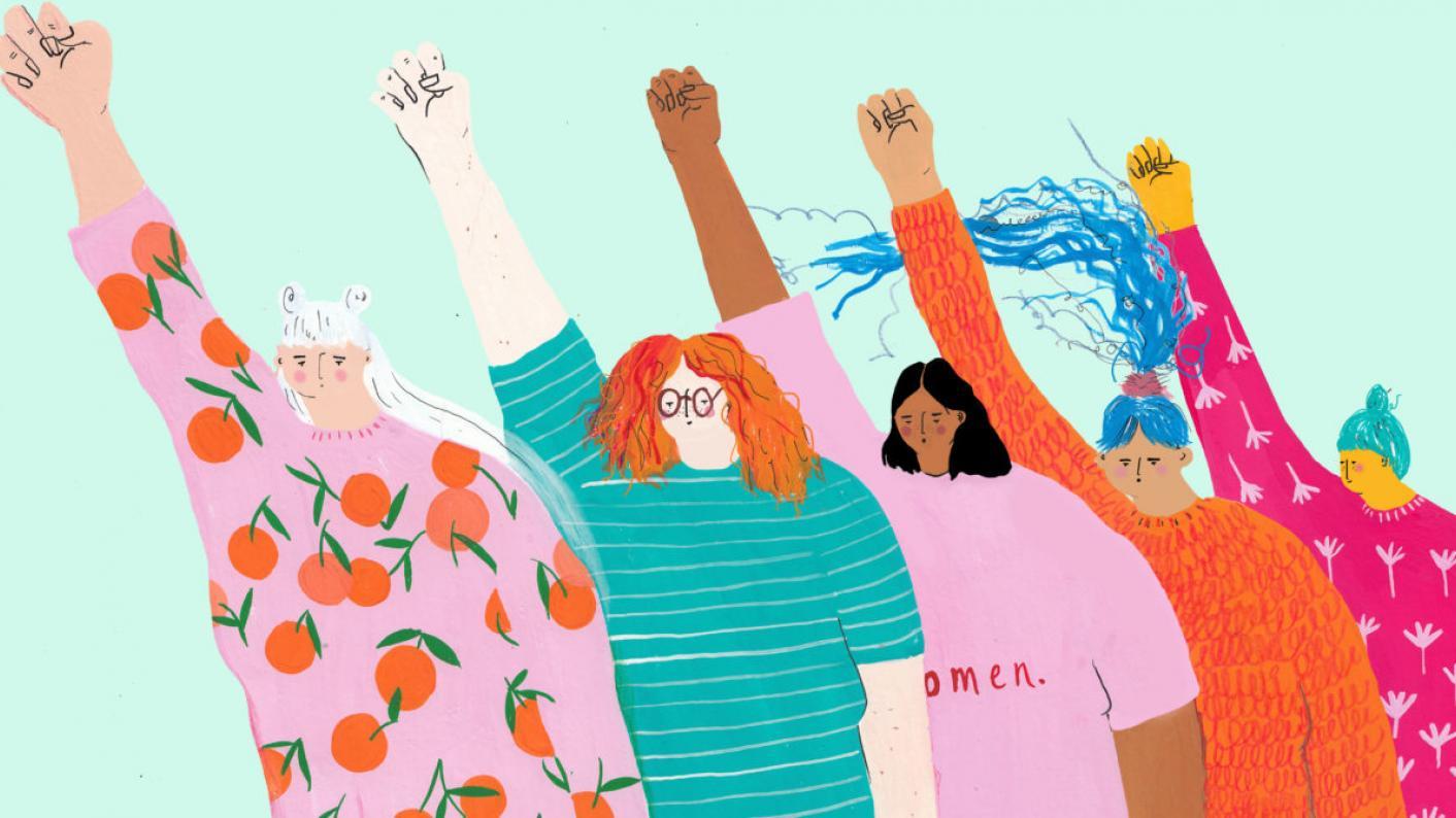 Female voice, women, female-friendly, teachers, TAs, schools