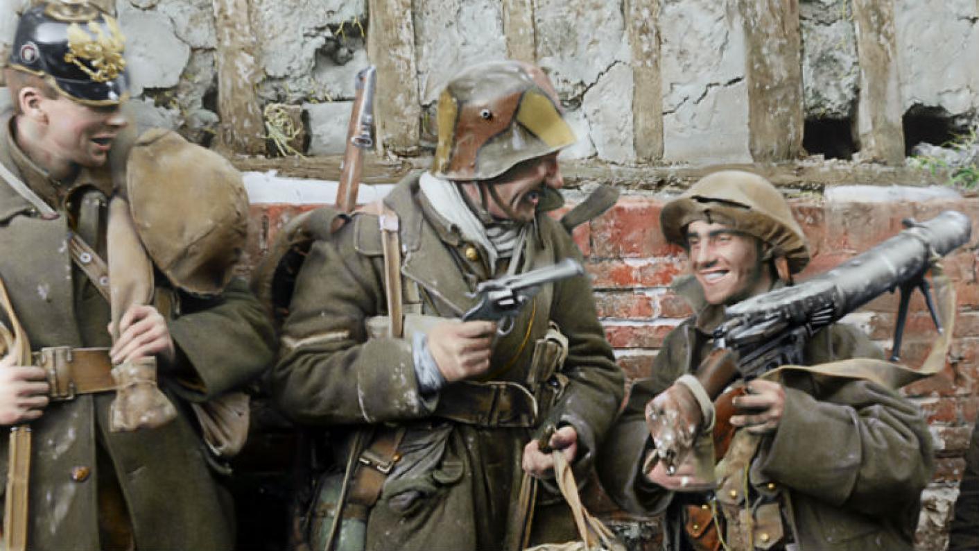 Friendship In The First World War