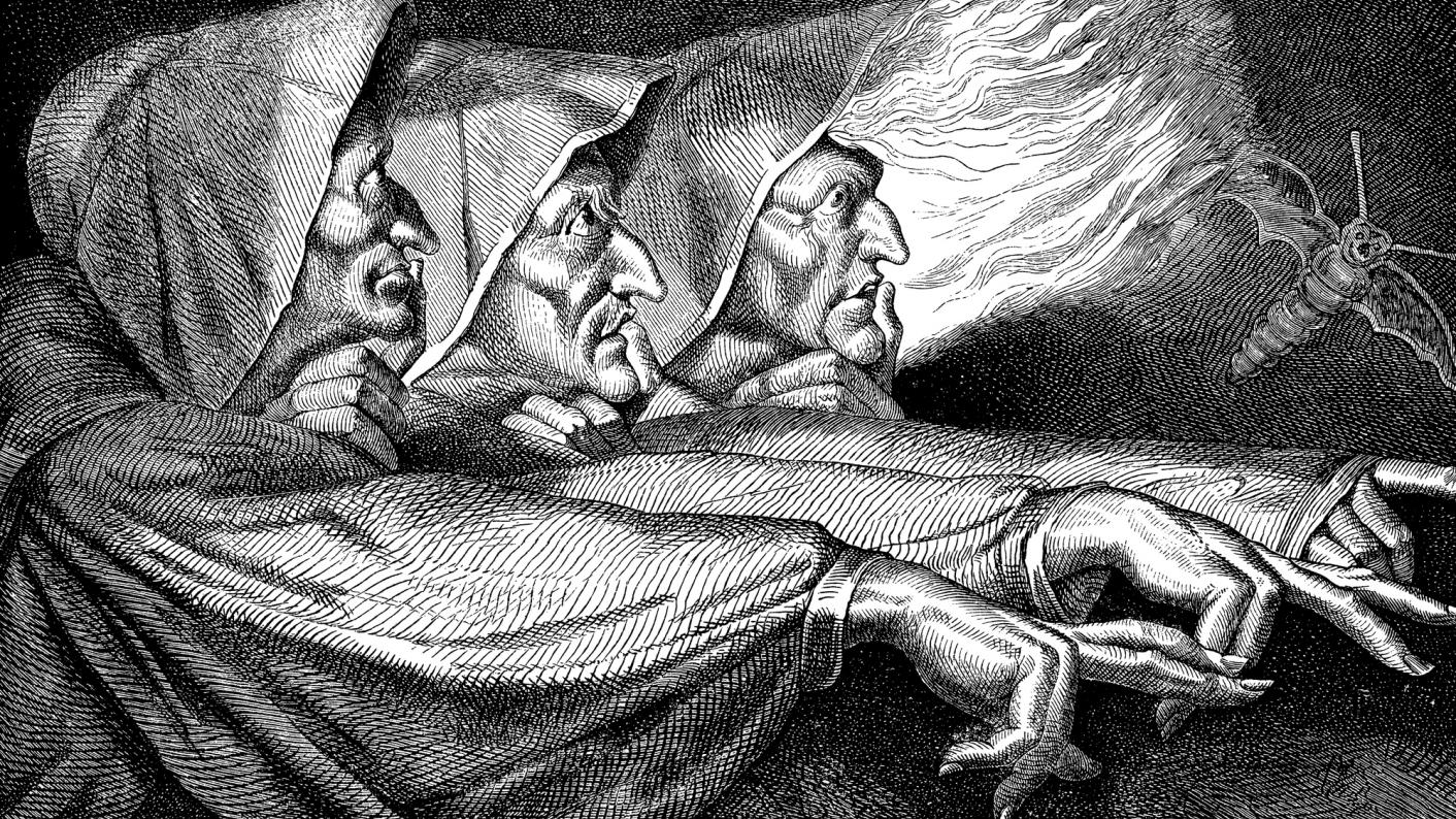 The witches from secondary English resources to teach Macbeth