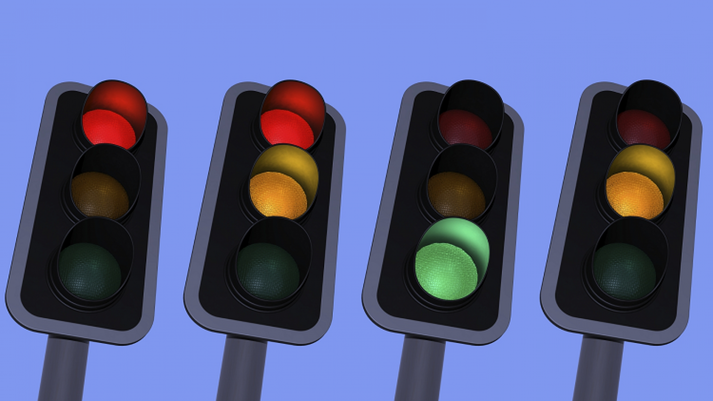 Traffic Lights Representing A Common Noise Control System