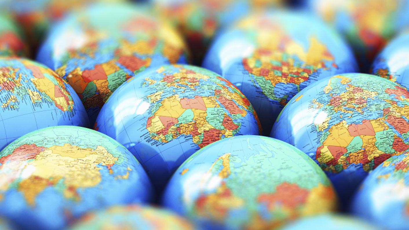 Geography teaching resources and globes